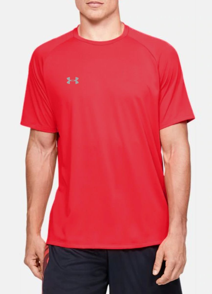 Men's UA Tech SS Tee Red