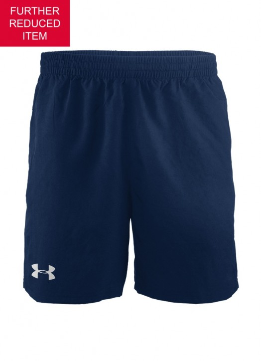Men's Elite Woven Short 6 Inch Navy Blue