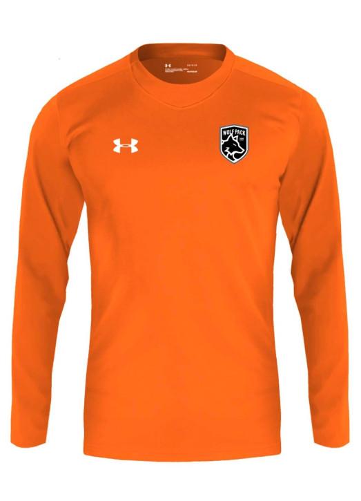 Men's Armourfuse LS Playing Shirt Orange