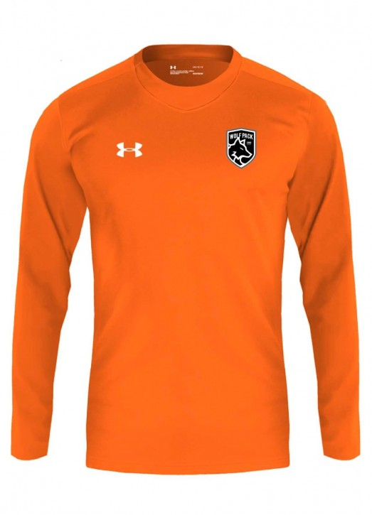 Youth Armourfuse LS Playing Shirt Orange