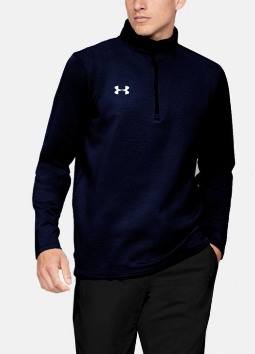 Men's Armour Fleece 1/4 Zip Navy Blue