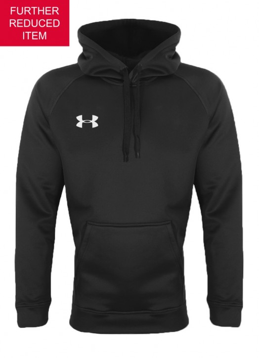 Youth Armour Fleece Hoodie Black