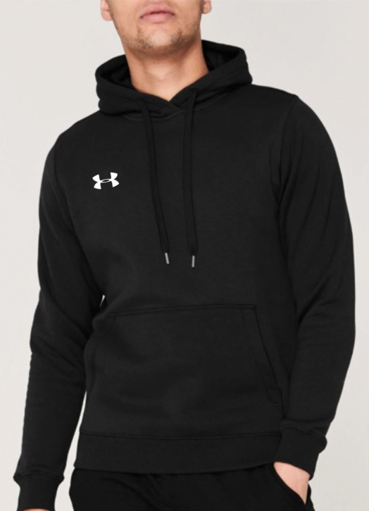Men's Armour Fleece Hoodie Black