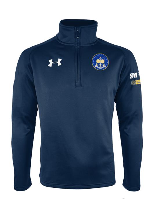 Men's Armour Fleece 1/4 Zip Navy Blue