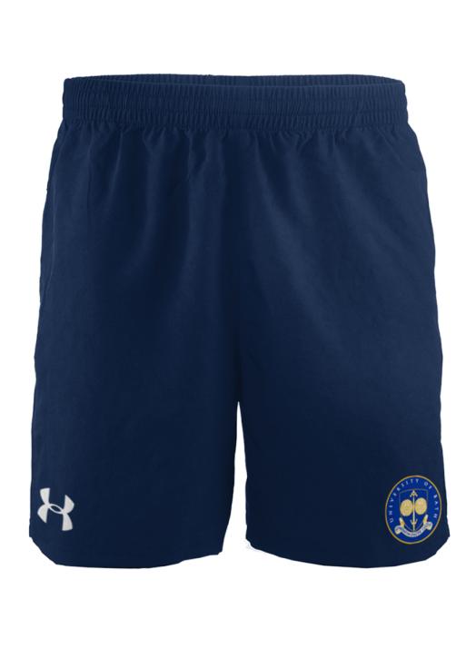 Men's Elite Woven Short 6 Inch Navy Blue