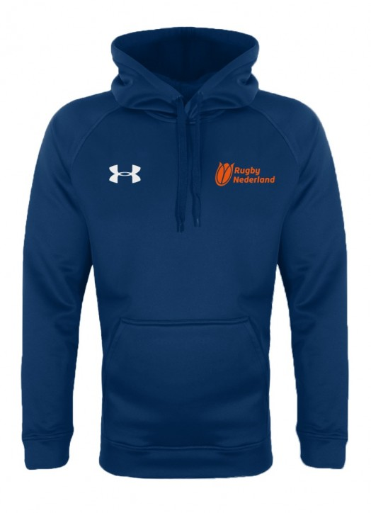 Men's Armour Fleece Hoodie Navy Blue