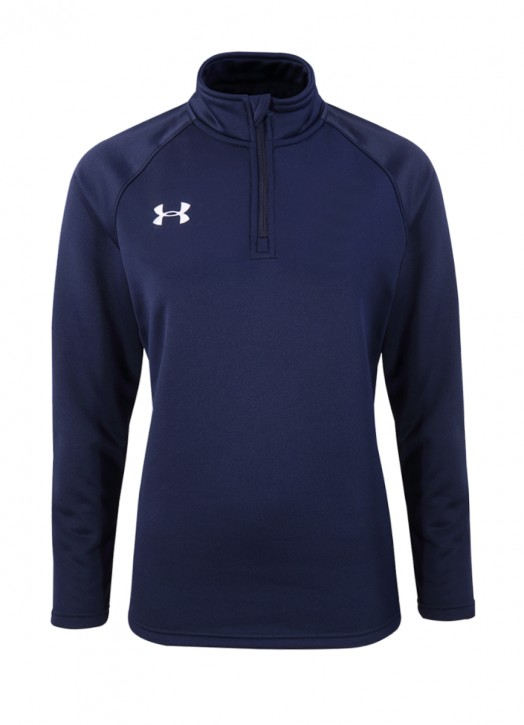 Women's Armour Fleece 1/4 Zip Navy Blue