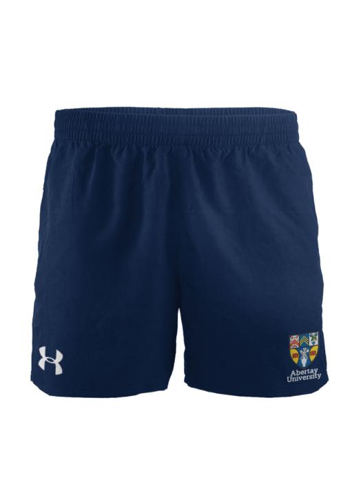 Women's Elite Woven Short Navy Blue