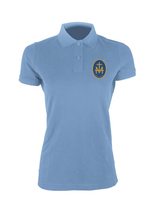 Women's Polo Sky Blue