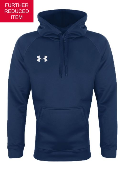 Youth Armour Fleece Hoodie Navy Blue