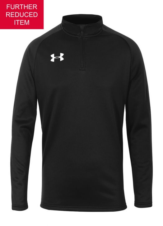 Youth Armour Fleece 1/4 Zip Black