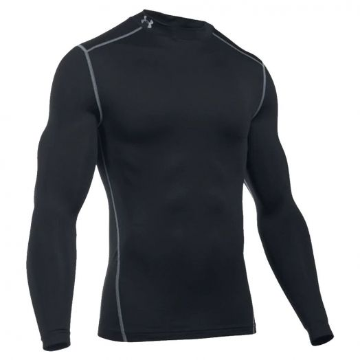 Men's Heatgear Crew Black