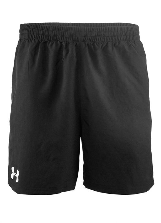 Women's Elite Woven Short 6 Inch Black