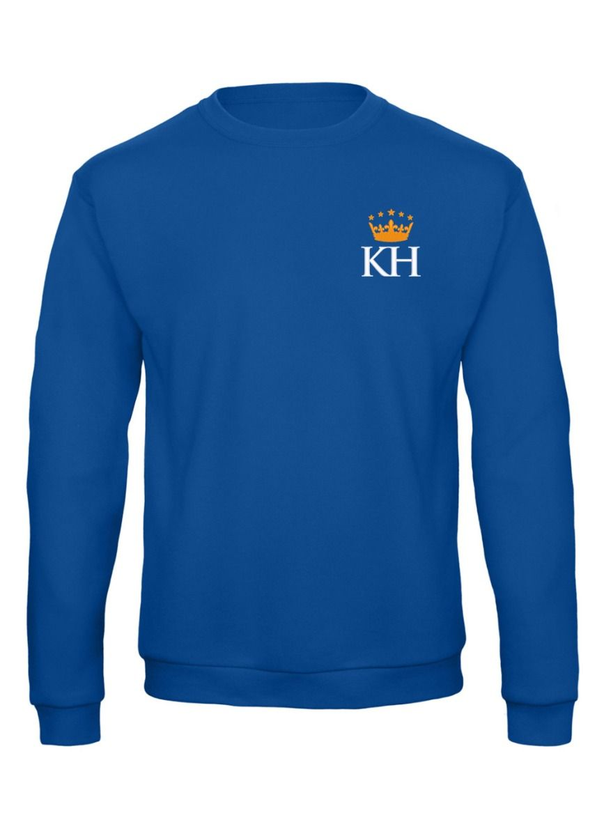 Junior Mylo Kyn Sweatshirt Royal Blue