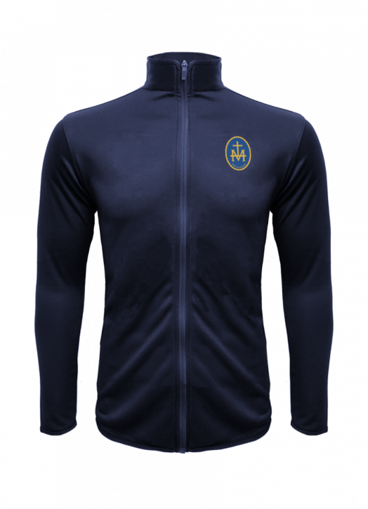 Junior Mylo Kyn Track Top Navy Blue