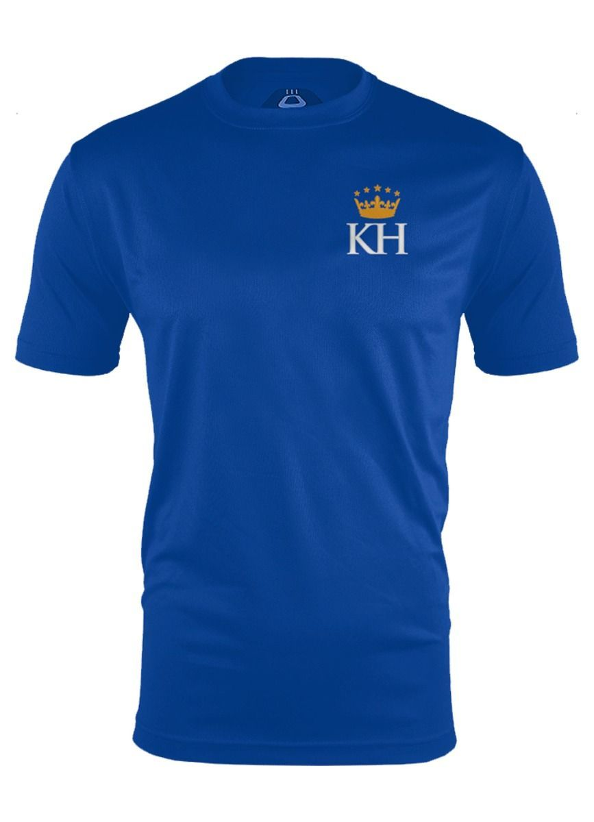 Senior Performance Tee Royal Blue