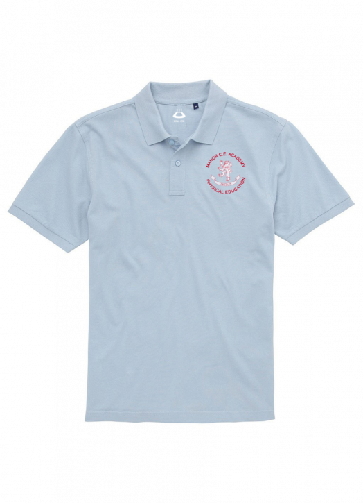 Junior Polo Sky Blue