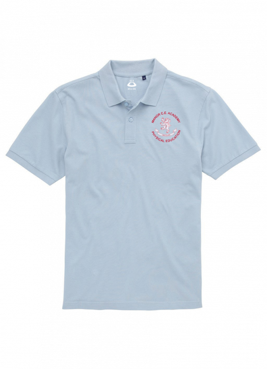 Women's Polo Sky Blue