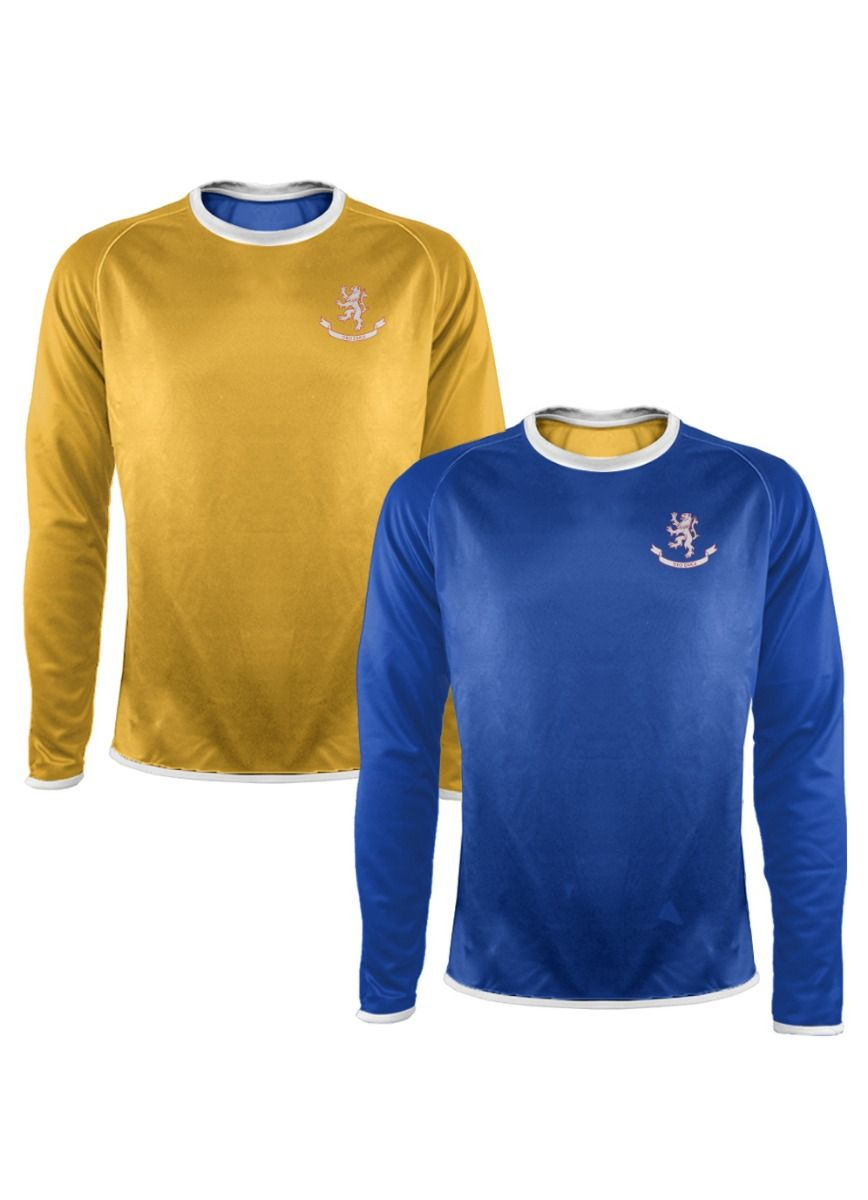 Men's Reversalayer L/S Crew Neck Royal
