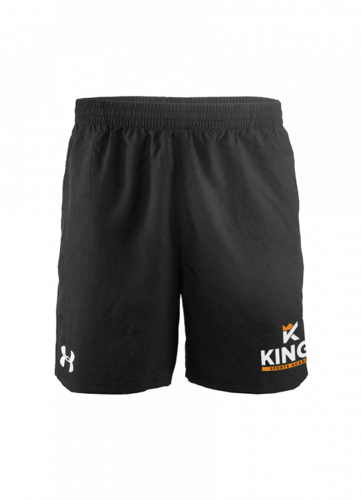 Youth Elite Woven Short 6 Inch Black