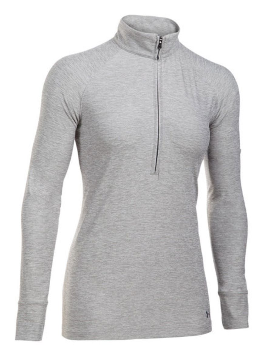 Women's UA Zinger 1/4 Zip Top Grey Marle